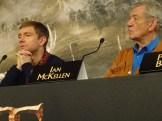 Bilbo & Gandalf: Martin Freeman & Sir Ian McKellen