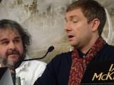 Peter Jackson & Martin Freeman