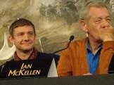 Martin Freeman & Sir Ian McKellen