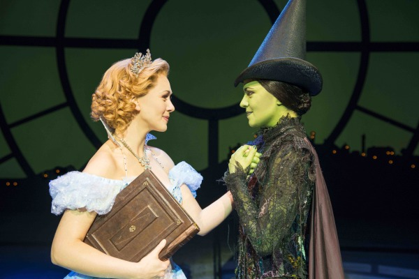 Wicked Jennifer DiNoia and Savannah Stevenson_photo by Matt Crockett