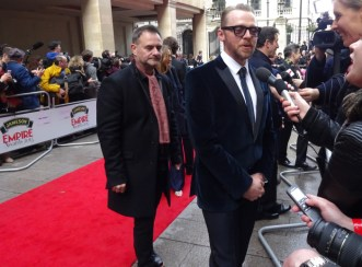 Jameson Empire Awards 2015: Simon Pegg