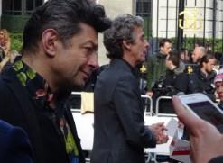 Jameson Empire Awards 2015: Andy Serkis & Peter Capaldi aka Gollum of The Hobbit & Doctor Who!
