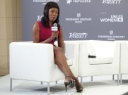 Elizabeth Nyamayaro at He For She panel.