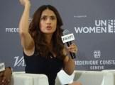 Salma Hayek at He For She panel.