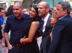 Jason Statham at Spy movie premiere in London