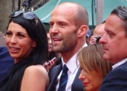 Jason Statham at Spy movie premiere in London