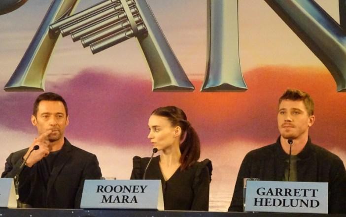 Hugh Jackman, Rooney Mara, Garrett Hedlund