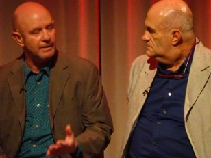 Brooklyn: writers Nick Hornby & Colm Toibin