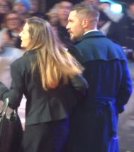 The Revenant Premiere: Tom Hardy