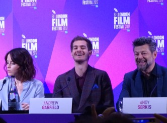 Breathe: Claire Foy, Andrew Garfield & Andy Serkis