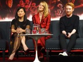 Star Wars: The Last Jedi - Kelly Marie Tran, Laura Dern, Domhnall Gleeson