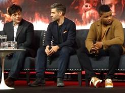 Star Wars: The Last Jedi - Benicio del Toro, Oscar Isaac, John Boyega