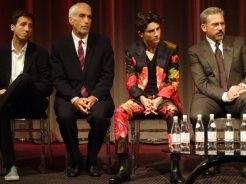 BFI London Film Festival: Beautiful Boy Nic Sheff, David Sheff, Timothee Chalamet & Steve Carell
