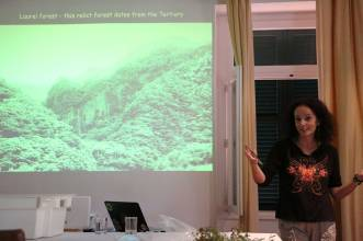 The importance and a bit of background of the forest - introduced through Dr. Susana Fontinha
