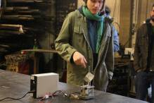 "David Gann: ""Driving The Gear-Cube with a motor"""