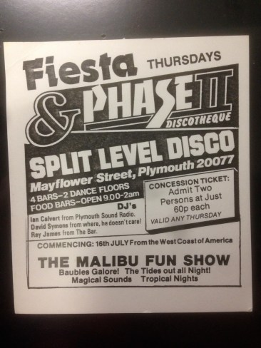 Fiesta and Phase II? Was Phase II an early name for Snobs?