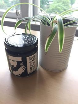 A jar of Baron Von Blueberry. Photo by Brittany Tiplady.