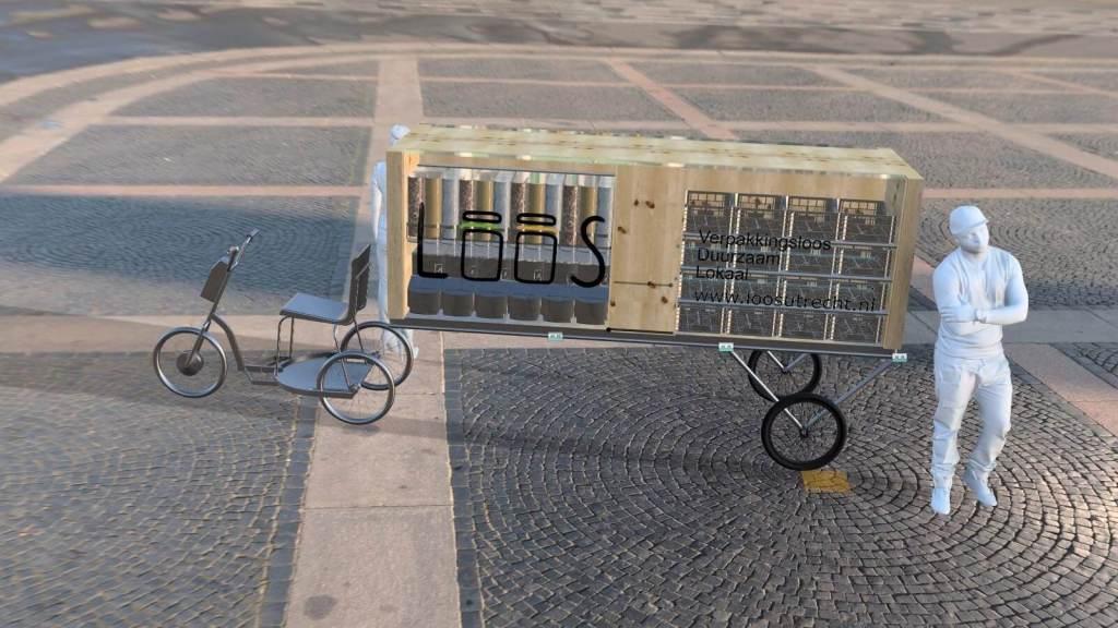 LOOS fiets 3D model b1