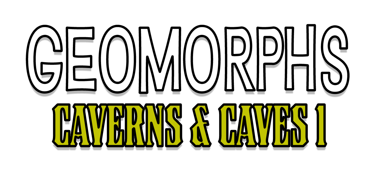Geomorphs: Caverns & Caves Cover