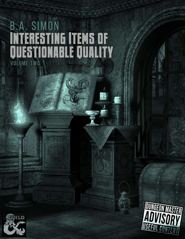 Interesting Items of Questionable Quality Vol. 2