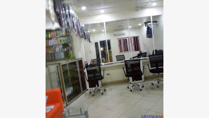 vente salon de coiffure cotonou
