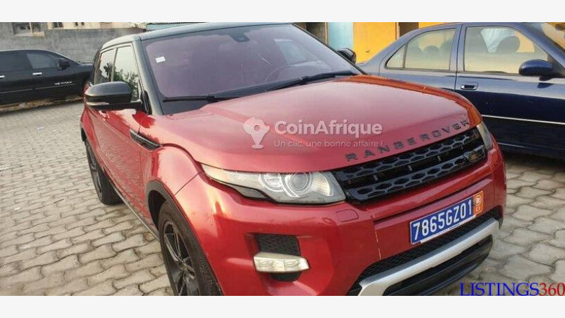 Range Rover Evoque 2016 Koumassi Abidjan Cote D Ivoire