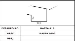 Diseño frontal canalon AIS TAP 3G 5G