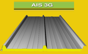 Panel sandwich de cubierta AIS 3G
