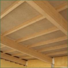 Panel sandwich de madera para cubiertas A Coruña