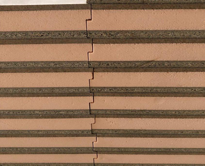 forjado instalacion panel Sandwich madera cemento
