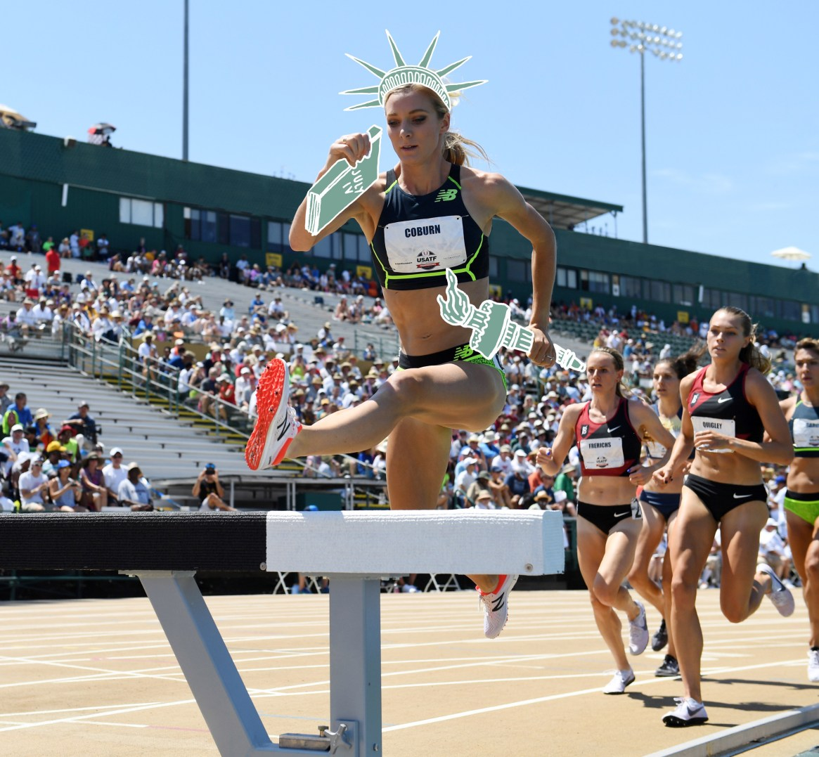 The History of the United States According to the Women's Steeplechase