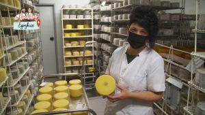 ¿Como se elabora el queso Idiazabal en Loperena Gaztandegia de Egozkue?