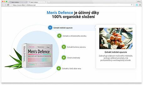 Men's Defence ingredience