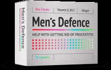 Men's Defence para la prostatitis