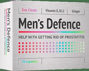 Men's Defence kezelési módszer prosztatagyulladásra