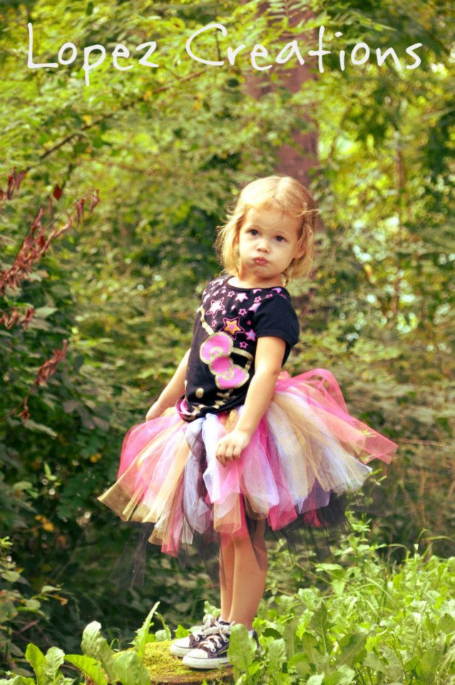 Reversible NO-SEW TuTu Tutorial (6/6)