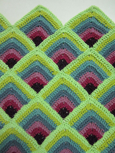 Crochet Blanket Ideas with links to Free Patterns (3/6)