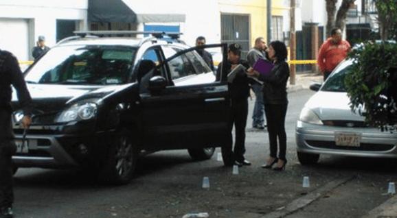 Asesinan a funcionario del DF en la Del Valle - Foto de Excélsior