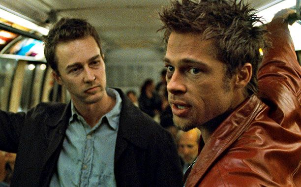 Se lanzará The Fight Club 2 en comic - Fight Club (1999)Edward Norton and Brad Pitt(Screengrab)