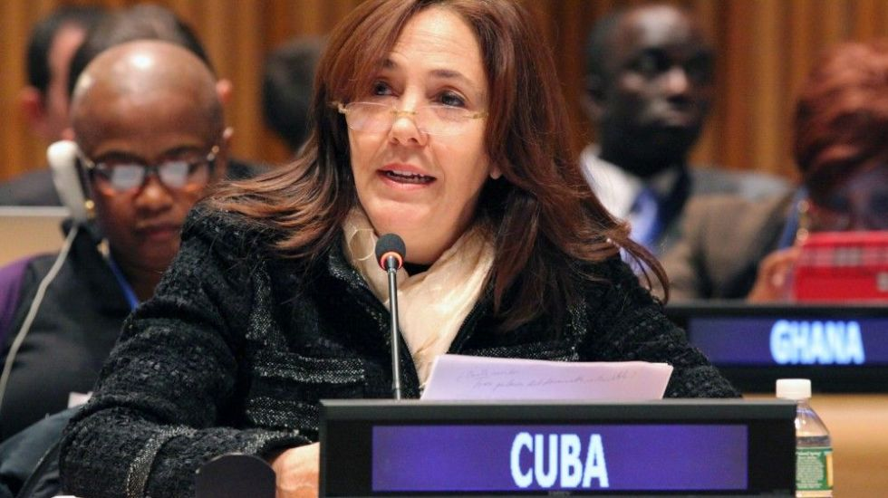 Mariela Castro, sobrina del ex-dirigente cubano Fidel Castro