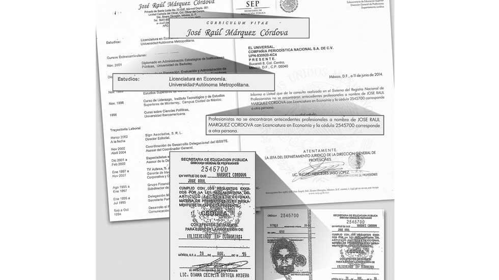 Piden indagar funcionario con cédula falsa - Foto El Universal