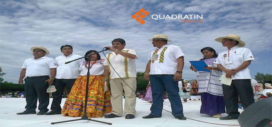 Inicia la Guelaguetza Magisterial Popular - Foto de Quadratin