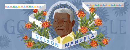 Homenaje a Mandela en Google - Foto de Google