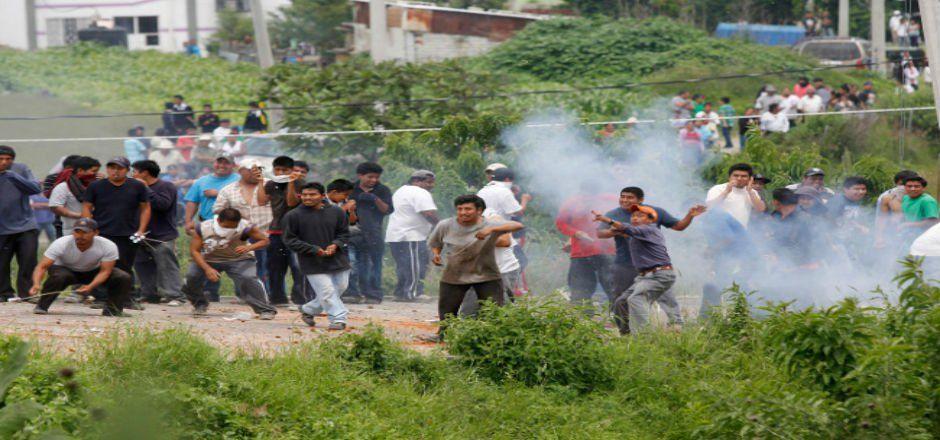 No fue bala de goma lo que lesionó al niño Luis Alberto Tehuatlie: PGJ - Foto de Cuartoscuro
