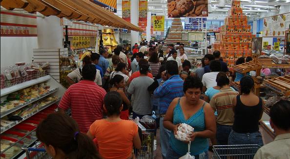 Baja Actividad Económica en México - Foto de Huitzil/Wikipedia