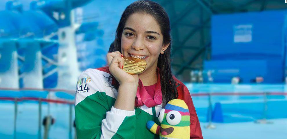 Oro para Alejandra Orozco - Foto @adriana_fdz