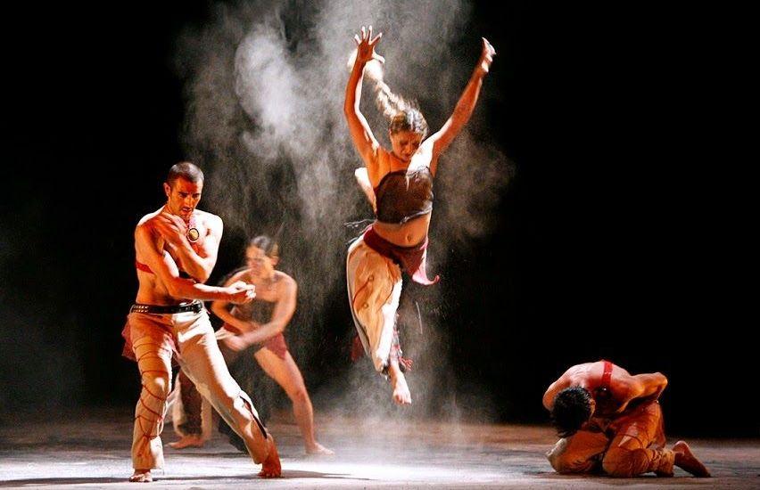 """Bellas Artes acoge la puesta coreográfica """"4 Visiones del Paraíso"""" - foto de Agencia N22"""