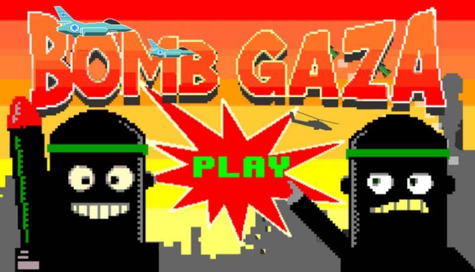Bombardean Gaza en juego para Android - Foto de The Independent
