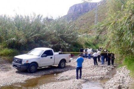 Detiene PGJE a presuntos responsables de triple homicidio - Paraje de Tlacolula donde ocurrió el triple homicidio