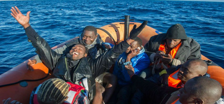 Mafia marroquí ofrece atajo en el Estrecho de Gibraltar - Foto de teinteresa.es